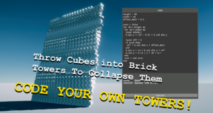 Throw Cubes into Brick Towers To Collapse Them Fitgirl